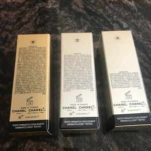 CHANEL Makeup - Chanel sublimage la creme, l'essence, cleanser